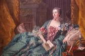 侯爵夫人 de pompadoure — 图库照片