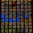 Stock Photo: Stained glass - Final Judgment