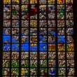 Stained glass - Final Judgment — Foto Stock