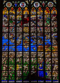 Stained glass - Final Judgment — Stock Photo
