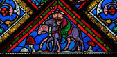 Three Kings - Stained Glass — Fotografia Stock