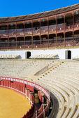Bull fighting arena — Stock Photo