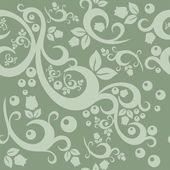 Elegant floral vintage seamless pattern background for your design — Vetor de Stock
