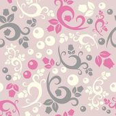 Elegant floral vintage seamless pattern background for your design — Vector de stock
