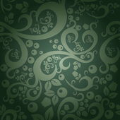 Elegant floral vintage seamless pattern background for your design — Stock Vector