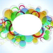 Abstact colorido con círculos para su diseño, eps10 — Vector de stock