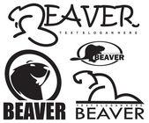 Beaver vector — Stock Vector
