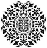 çiçek rozet vektör — Stok Vektör