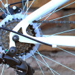 Stock Photo: Bicycle Chain and Sprocket