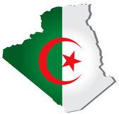 Algeria vector — Stock Vector