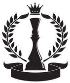 Chess Queen vector — Stock Vector