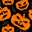 Vector de stock : Halloween wallpaper vector