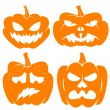 Pumpkin vector — Stock Vector