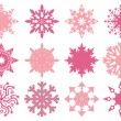 Snowflakes design — Stock Vector