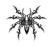 Ornament spider vector — Stock Vector
