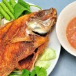 Pan fried fish — Stock Photo #12733644