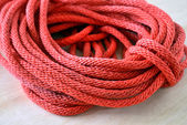 Red rope — Stock Photo