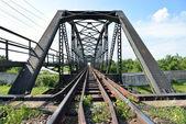 Bridge of Train track — Stock Photo