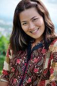 A women smile — Zdjęcie stockowe