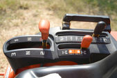Three Speed Tractor Gearshift Knob  — Stock Photo