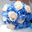 Stock Photo: Bride's bouquet