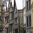 Normandy, picturesque old house in Rouen — Stock Photo