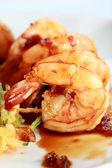 Tiger prawns shrimps — Stock Photo
