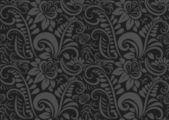 Retro floral wallpaper. Seamless — Stock Vector
