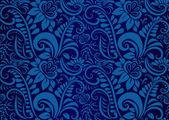 Retro floral wallpaper. Seamless — Vettoriale Stock