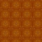 Floral yellow wallpaper. Seamless — Stock Vector