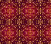 Retro dark red wallpaper. Seamless — Vecteur