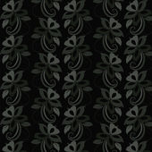 Floral wallpaper. Seamless. — Vecteur