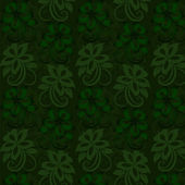 Floral wallpaper. Seamless — Vector de stock