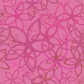 Цветочные абстрактный фон, бесшовные — Cтоковый вектор