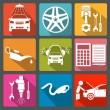 Set of car service icons — Stock Vector #46263855