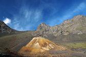 As montanhas do cáucaso. mineira velha. — Fotografia Stock