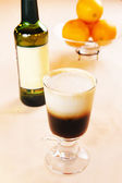 Irish coffee cocktail — Stock Photo