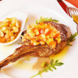 Veal with vinaigrette — Lizenzfreies Foto