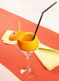 """Drunk Orange"" cocktail — Stock Photo"