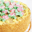 Forest Glade sweet cake — Stock Photo