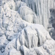 Frozen waterfall — Stock Photo