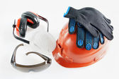 Tools Of Individual Protection For Worker — Stock Photo