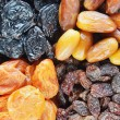 Various dried fruits — Stock Photo