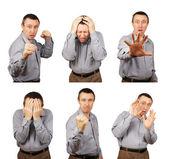 Emociones negativas — Foto de Stock