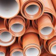 Plastic pipes for sewerage — Stock Photo #28809901