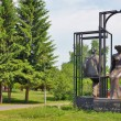 To lovers monument in Kemerovo city — Stock Photo #37181225