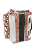 Accordion isolated over white background — Стоковое фото