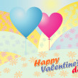 Valentine day greeting card — Stock Vector #38040577