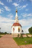 Chapel of Saint Anastasia in the town of Mariinsk, Kemerovskaya region, Siberia, Russia — Stock Photo
