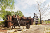 Exhibit in Memorial of the victims of Stalinist repression in the town of Mariinsk, Kemerovskaya region, Siberia, Russia — Foto Stock